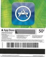 @+ Carte Cadeau - Gift Card : App Store - Apple VERTE (50 €). - Frankreich