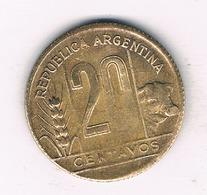 20 CENTAVOS 1948 ARGENTINA /530/ - Argentine