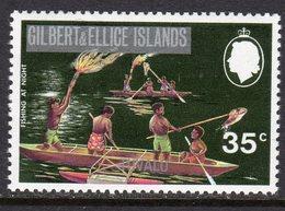 Tuvalu 1976 Definitive Overprints 35c Value, Wmk. Multiple Crown CA Sideways, MNH, SG 25 (BP2) - Tuvalu