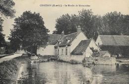CARTE POSTALE ORIGINALE ANCIENNE : CHAUDON LE MOULIN DE MORMOULINS EURE ET LOIR (28) - France
