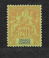 GRANDE COMORE - N° 7 NEUF * - COTE = 14.50 € - Unused Stamps