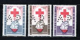 PR125/127 MNH 1959 Huwelijk Van Prins Albert En Prinses Paola - Belgique