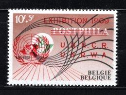 PR147/148 MNH 1969 EXIBITION 1969 U.N.R.W.A. - U.N.H.C.R. - Private & Local Mails