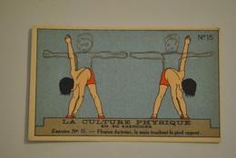 Chromo Bon Point Banania Exquis Dejeuner Sucré La Culture Physique En 30 Exercices Exercice 15 - Altri