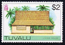Tuvalu 1976 Living House Definitive $2 Value, MNH, SG 43 (BP2) - Tuvalu