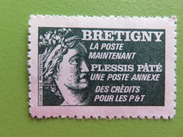France - Vignette Sabine Bretigny - Neuf - Vignette De Protestation - Erinnofilia