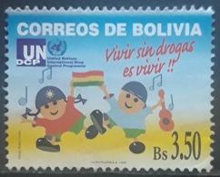 BOLIVIA 1999 Anti-drugs Campaign. USADO - USED. - Bolivia