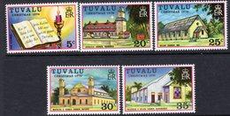 Tuvalu 1976 Christmas Set Of 5, MNH, SG 45/9 (BP2) - Tuvalu
