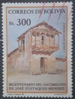 BOLIVIA 1984 Bicentenario Del Nacimiento De Jose Eustaquio Mendez. USADO - USED. - Bolivia