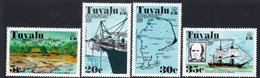 Tuvalu 1977 Royal Society Expeditions Set Of 4, MNH, SG 77/80 (BP2) - Tuvalu
