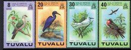 Tuvalu 1978 Wild Birds Set Of 4, MNH, SG 81/4 (BP2) - Tuvalu