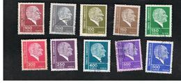 TURCHIA (TURKEY)  -  SG 2431.2437  - 1972  K. ATATURK  - USED - Brieven En Documenten
