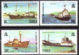 Tuvalu 1978 Ships Set Of 4, MNH, SG 85/8 (BP2) - Tuvalu