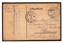 Carte Prisonnier De Guerre 1917  Camp De  SOLTAU Lager  Z 3051 - Guerra '14-'18