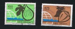 TURCHIA (TURKEY)  -  SG 2474.2478  - 1973 EXPORT PRODUCTS    - USED - Brieven En Documenten
