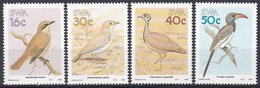 Südwestafrika SWA Namibia 1988 Tiere Fauna Animals Vögel Birds Oiseaux Aves Uccelli Trappen Toko Lerche, Mi. 629-2 ** - África Del Sudoeste (1923-1990)