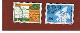 TURCHIA (TURKEY)  -  SG 2517.2518  - 1975 POST & TELECOMMUNICATIONS   - USED - Brieven En Documenten