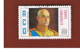 TURCHIA (TURKEY)  -  SG 2564  - 1976 RCD ANNIVERSARY: RIZA SHAH PAHLAVI   - USED - Brieven En Documenten