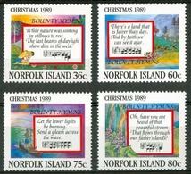 NORFOLK ISLAND - 1989 - Christmas - Mint** - SUP - Neuf - Ile Norfolk