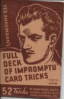 Full Deck Of Impromptu Card Tricks (prestidigitation) - Culture