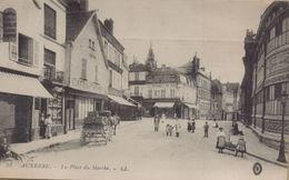 Auxerre : La Place Du Marché - Auxerre