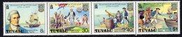 Tuvalu 1979 Captain Cook Death Centenary Strip Of 4, MNH, SG 123/6 (BP2) - Tuvalu