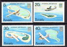 Tuvalu 1979 Internal Air Service Set Of 4, MNH, SG 127/30 (BP2) - Tuvalu