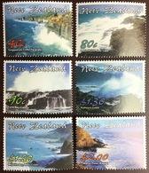 New Zealand 2002 Coastlines MNH - New Zealand