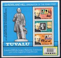 Tuvalu 1979 Rowland Hill Death Centenary MS, MNH, SG 134 (BP2) - Tuvalu