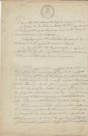 TIMBRES FISCAUX DE MONACO 1873 TIMBRE à L'EXTRAORDINAIRE PRINCE CHARLES III - Fiscaux