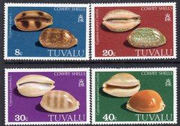 Tuvalu 1980 Cowrie Shells Set Of 4, MNH, SG 139/42 (BP2) - Tuvalu