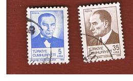TURCHIA (TURKEY)  -  SG  2771.2773  - 1982 K. ATATURK    - USED - 1921-... Republiek