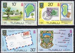 Tuvalu 1980 London '80 Stamp Exhibition Set Of 4, MNH, SG 143/6 (BP2) - Tuvalu