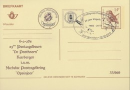"""Doc 159 - 25 Postzegembeurs """"De Posthoorn"""" - Tienem (Numeroté: 33/060) - 1985-.. Oiseaux (Buzin)"""