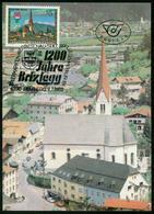 Mk Austria Maximum Card 1988 MiNr 1929 | 1200th Anniv Of Brixlegg - Maximumkarten (MC)