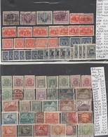TIMBRES DE POLOGNE NEUF*/OBLITEREES 1919-23  Nr VOIR SUR PAPIER AVEC TIMBRES   20.75   €  2 PLAQUETTES - 1919-1939 République