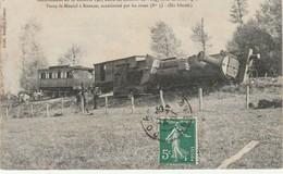 42 Deraillement Du 16 Octobre 1907 Entre Les Stations De Vougy Et Le Côteau Licne Paraye Le Monial Roanne .... - Sonstige Gemeinden