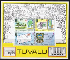 Tuvalu 1980 London '80 Stamp Exhibition MS, MNH, SG 147 (BP2) - Tuvalu