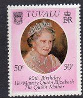 Tuvalu 1980 Queen Mother 80th Birthday, MNH, SG 148 (BP2) - Tuvalu