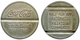 05474 GETTONE JETON TOKEN DISPENSER DRINK MACHINE COCA COLA BUSTO ARSIZIO - Non Classificati