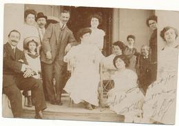1911 CARTOLINA POSTALE CON LA VERSO FOTOGRAFIA DI FAMIGLIA - 1900-44 Vittorio Emanuele III