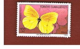 TURCHIA (TURKEY)  -  SG  3014  - 1988  BUTTERFLIES: BRIMSTONE   - USED - 1921-... Republiek
