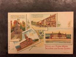 Old Postcard Vatra Dornei Litho - Rumänien