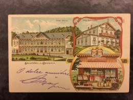 Old Postcard Govora Litho - Roumanie