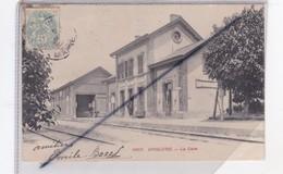 Anglure (51) La Gare (carte Précurseur De 1905) - Anglure