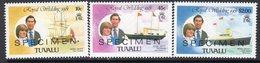 Tuvalu 1981 Royal Wedding Set Of 3 Optd. SPECIMEN, MNH, SG 168, 170, 172 (BP2) - Tuvalu