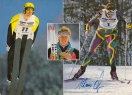 AK - Klaus Ofner - Nordische Kombination - Signiert - Wintersport