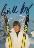 AK - CHRISTL HAAS - Signiert - Wintersport
