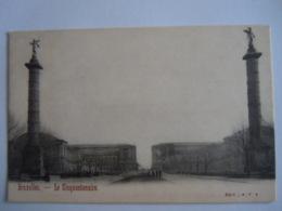 Bruxelles Le Cinquantenaire Edit: R. F. 5 Précurseur - Monuments, édifices