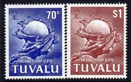 Tuvalu 1981 UPU Membership Set Of 2, MNH, SG 177/8 (BP2) - Tuvalu